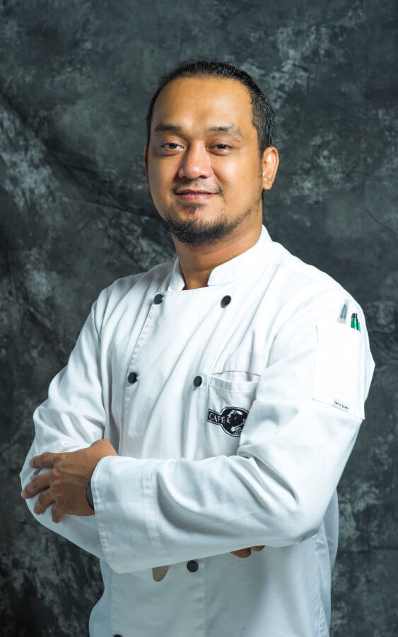 Chef Marvin Mergal - Chef de Partie