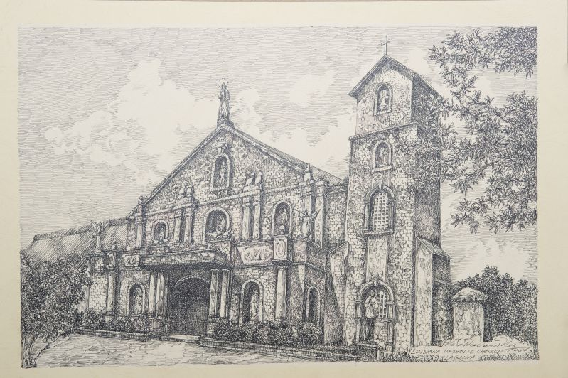 Our Lady of the Holy Rosary Parish Church - Luisiana, Laguna